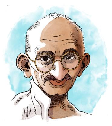 Gandhi_caricature